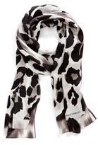 Collection XIIX Women's 'Blur Cheetah' Silk Scarf