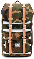 Herschel Little America Backpack in Army.