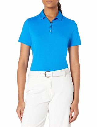 Jack Nicklaus Women's Solid Textured Golf Polo Shirt