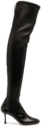 Francesco Russo Thigh-High Boots