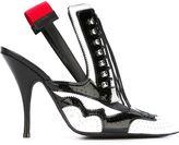 Givenchy slingback brogue pumps