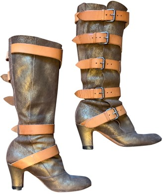 Vivienne Westwood Brown Leather Boots