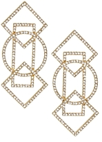 BaubleBar Geometric Drop Earrings