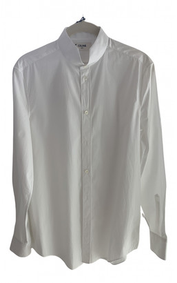 Celine White Cotton Shirts