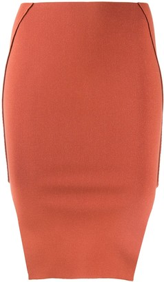 Rick Owens Fitted Pencil Skirt
