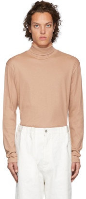 Lemaire Pink Sunspel Edition Jersey Turtleneck