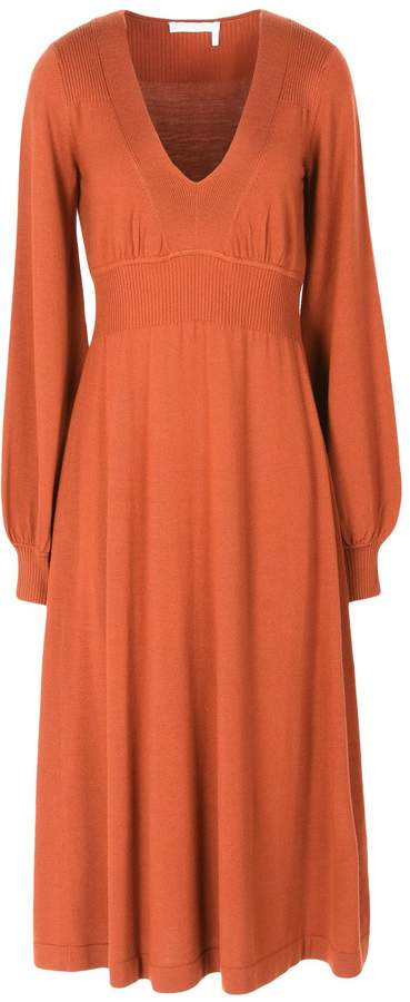 Chloé 3/4 length dresses