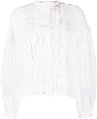 Isabel Marant Samaly ruffled shirt
