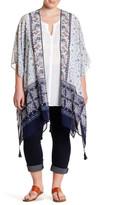 Daniel Rainn Printed Kimono (Plus Size)