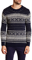Scotch & Soda Intarsia Knitted Crewneck Sweater
