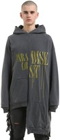 Thumbnail for your product : Alchemist Hooded Maxi Cotton Sweatshirt