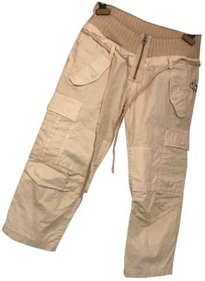 Rare White Cotton Trousers for Women