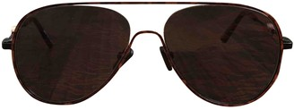Kenzo Orange Metal Sunglasses