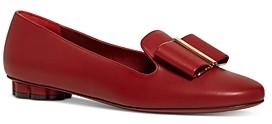 Salvatore Ferragamo Women's Sarno Leather Loafers