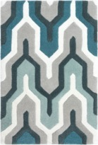 The Well Appointed House Surya Cosmopolitan Rug in Teal, Gray, Mint and Sea Foam-Available in a Variety of Sizes