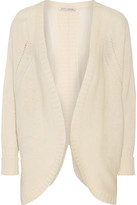 Autumn Cashmere Open-knit cashmere cardigan