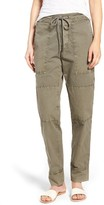 James Perse Women's High Waist Tapered Pull-On Pants