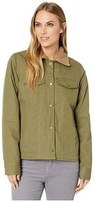 Toad&Co Kenai Sherpa Jacket (Blue Wing Teal) Women's Coat