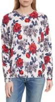 Equipment Melanie Flower Print Cashmere Sweater