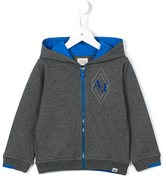 Armani Junior zipped hoodie