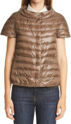 Herno Short Sleeve Down Puffer Jacket