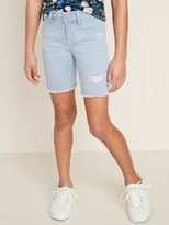 Old Navy Ballerina Distressed Cut-Off Jean Shorts for Girls