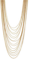 BCBGeneration Gold-Tone Multi-Chain Necklace