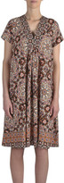 Jump S/Slve Moroccan Print Dress