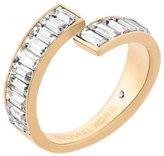 Michael Kors Modern Baguette -Tone Ring, Size 7