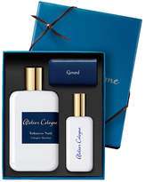 Atelier Cologne Tobacco Nuit Cologne Absolue, 200 mL with Personalized Travel Spray, 1.0 oz./ 30 mL