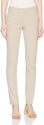 Marc O'Polo Women's Jeans 801005010153 Ivory (Cedar Wood 120) 36