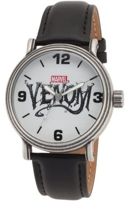 Marvel Venom Men's Antique Silver Alloy Vintage Watch