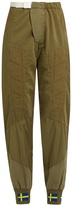 Acne Studios Ilse Co Sat panelled trousers