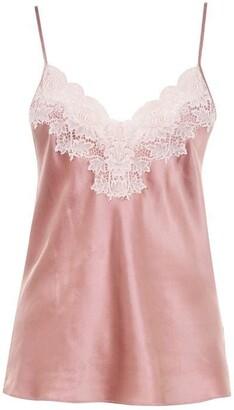 Ginia Silk Lace Cami Ld02