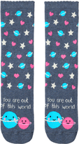 Accessorize You Are Out Of This World Socks