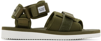 Suicoke Green maharishi Edition Kuno-NS Sandals