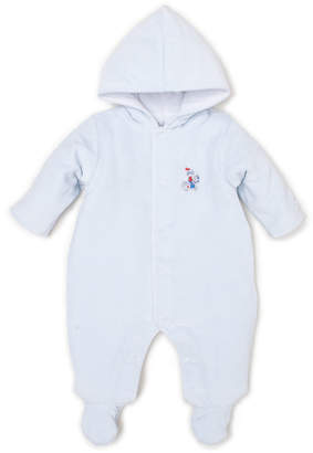 Kissy Kissy Dragons Den Velour Hooded Footie Bunting, Size 0-9 Months
