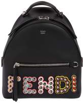 Fendi Mini Studded Leather Backpack