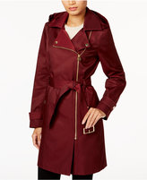 MICHAEL Michael Kors Asymmetrical Raincoat