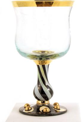 Mackenzie Childs Tango Water Glass