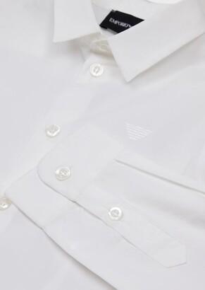 Emporio Armani Stretch Poplin Shirt