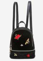Bebe Dalia Embroidered Backpack