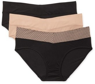 Blissful Benefits by Warner's Women's No Muffin Top Micro Hipster 3-Pack
