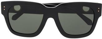 Linda Farrow Square Frame Sunglasses