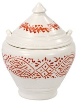 John Robshaw Lakki Covered Porcelain Jar