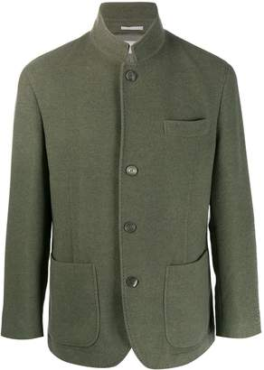 Brunello Cucinelli long-sleeve fitted blazer