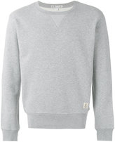 Closed patch detail sweatshirt - men - Cotton/Polyester - S