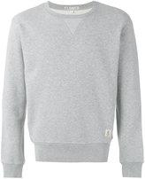 Closed patch detail sweatshirt - men - Cotton/Polyester - S