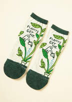 ModCloth We Can Work It Sprout Socks