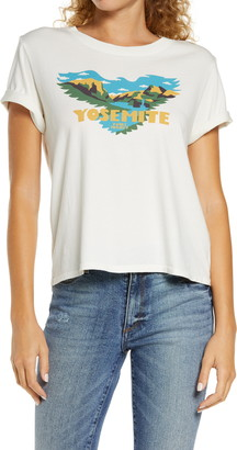 Parks Project Yosemite Soaring Eagle Graphic Tee